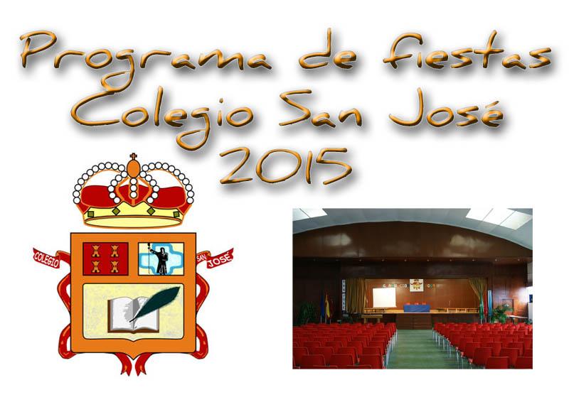 Programa fiestas Colegio San José
