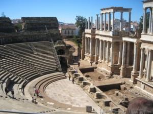 Teatro románo de Mérida
