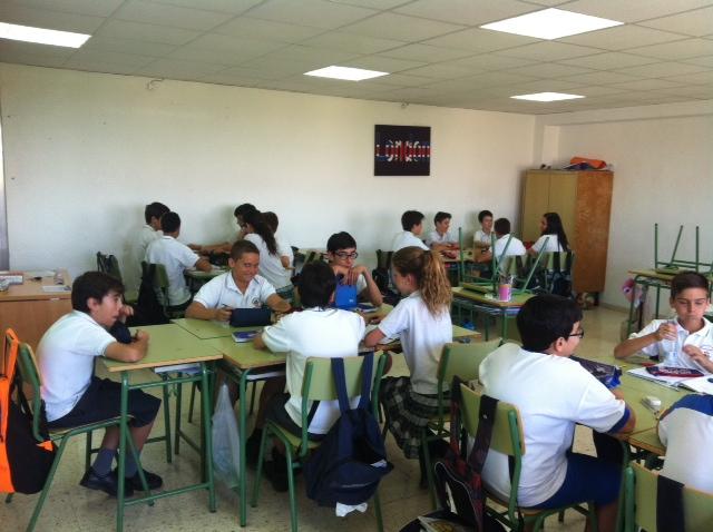 concurso matemático 1º ESO A Colegio San José Espinardo 1