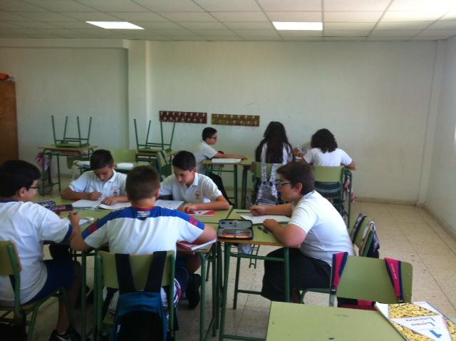 concurso matemático 1º ESO A Colegio San José Espinardo 2