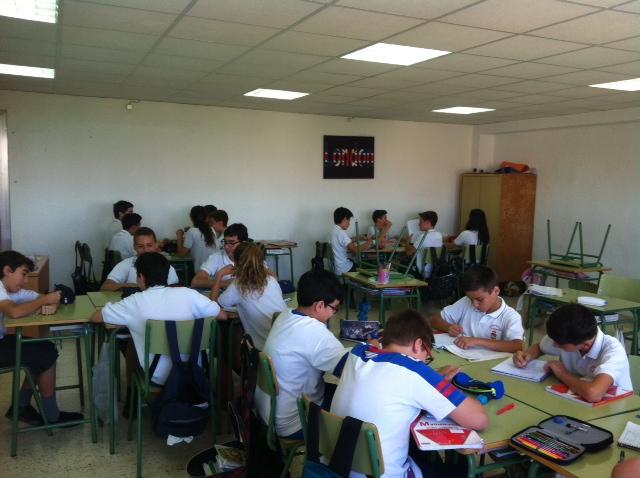 concurso matemático 1º ESO A Colegio San José Espinardo 3