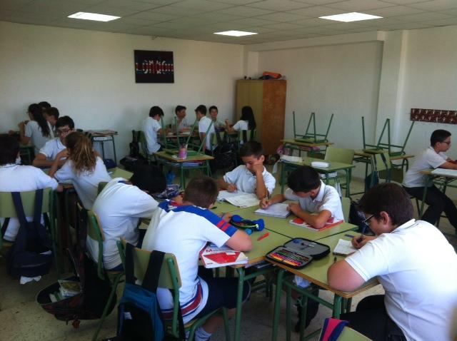 concurso matemático 1º ESO A Colegio San José Espinardo 4
