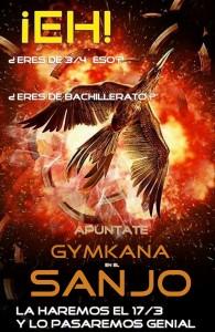 Cartel de la convocatoria de la Gymkana