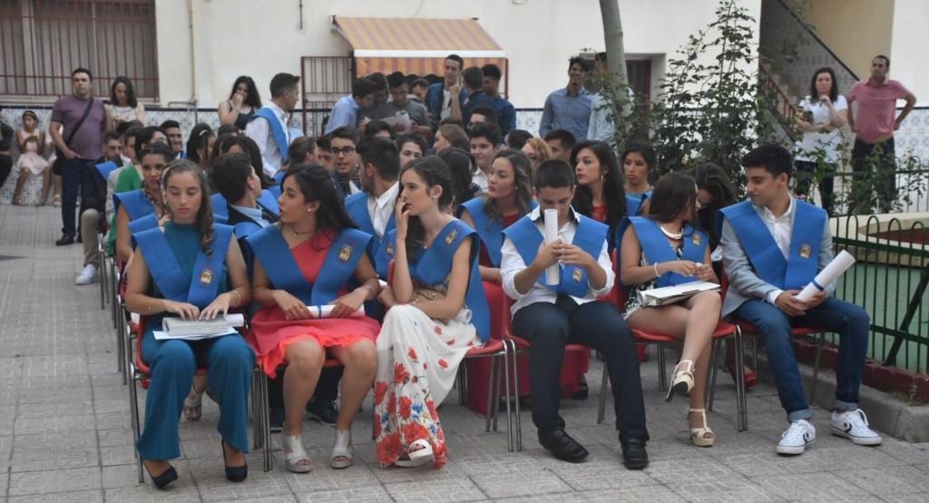 Graduados 4º ESO curso 2015-2016
