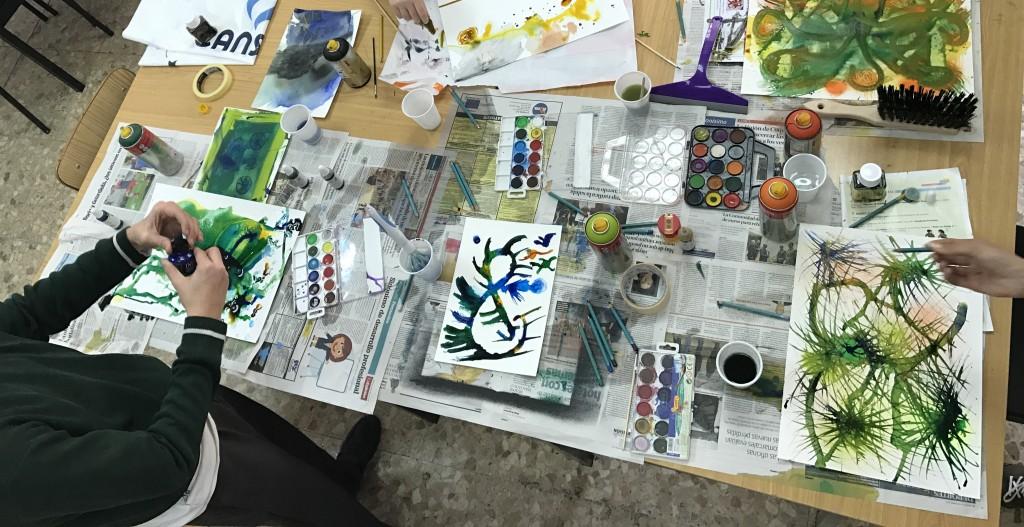 taller experimental de pintura