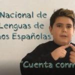 Día Nacional de las Lenguas de Signos Españolas. «Cuenta conmigo»
