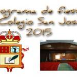 Fiestas de San José 2015. Programa