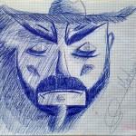 Dibujando a Don Quijote