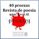 40 proezas, núm. 5, vol. III: Haikús